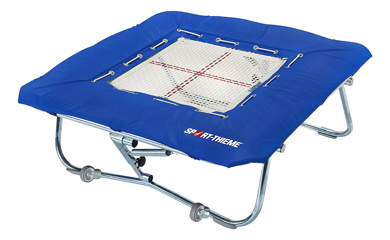 Sport-Thieme® Minitramp Premium mit 6 mm Sprungtuch, Minitramp 125