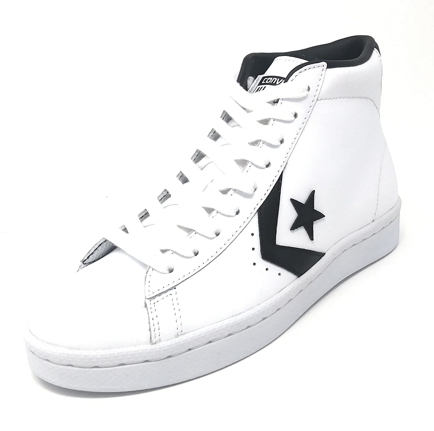 Converse CTAS Chuch Taylor All Star PL 76 MID White/Black/White B07DLL9YGD 12 Mens / 13.5 Womens
