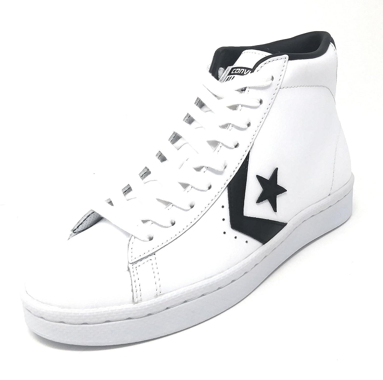 Converse CTAS Chuch Taylor All Star PL 76 MID White/Black/White B07DLGP5HX 11 Mens / 12.5 Womens