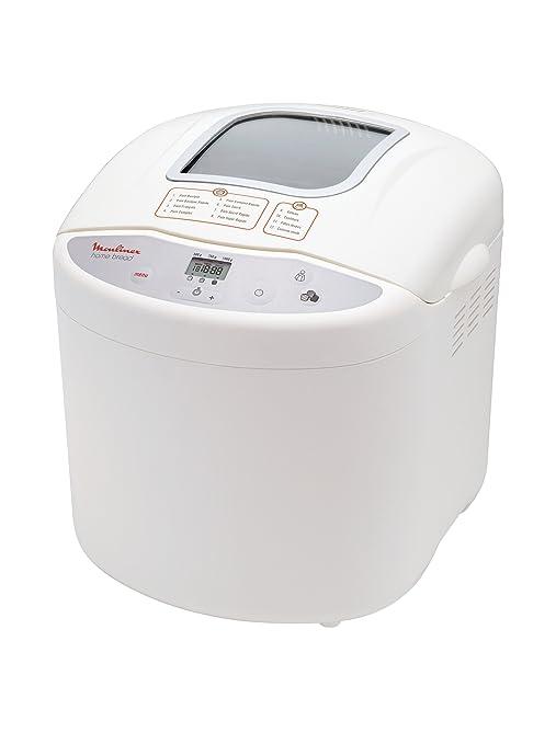 Moulinex OW200035 - Panificadora programable, 1 Kg, 600 W, color ...