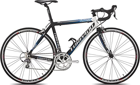Torpado Temeraria - Bicicleta de carrera de aluminio y carbono, 10 ...