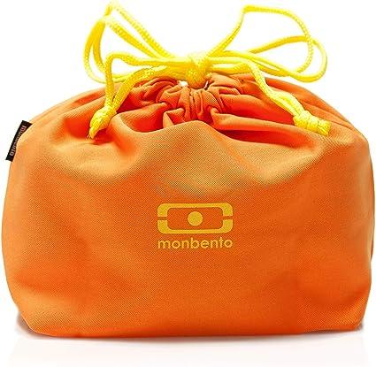 18 x 14 x 24 cm La Bolsa Para Transportar Tu Bento Box Monbento Pochette Color Banana