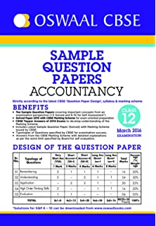 Oswaal cbse sample question papers for class 12 physical education oswaal cbse sample question papers for class 12 accountancy for 2016 exams malvernweather Image collections