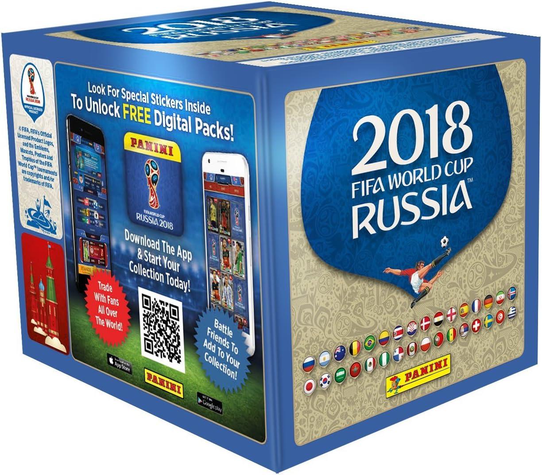 Panini - Mundial Rusia 2018 Caja con 100 Sobres - Versión ...