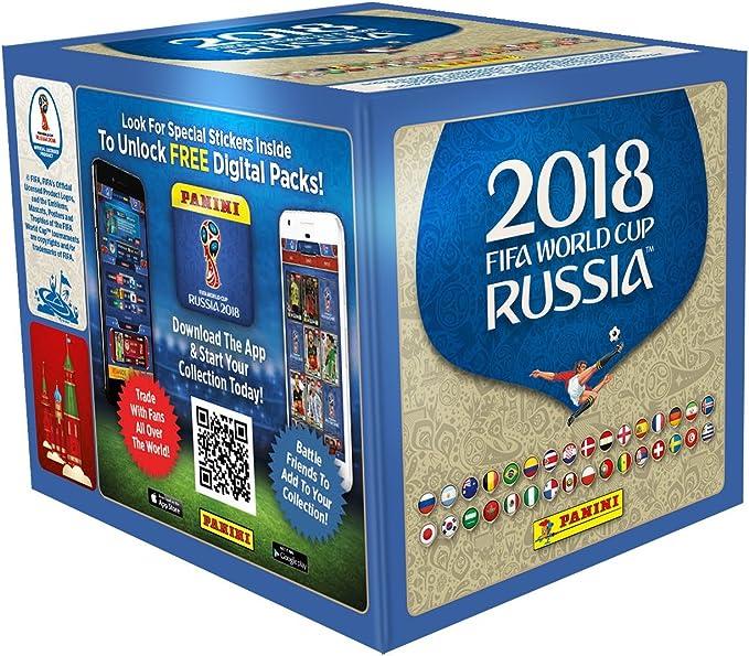 Panini-Mundial Rusia 2018 Caja con 50 Sobres, (003497BOX50 ...
