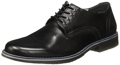 157fa4e214e16 flexi Jeremy Men s Genuine Leather Four Eyelet Casual Lace Up Dress Shoe
