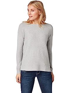 231d08c4ee43 TOM TAILOR Denim Damen Pullover  Amazon.de  Bekleidung