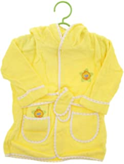Baby Deluxe Terry Bathrobe Washcloth Towel - Sesame Street