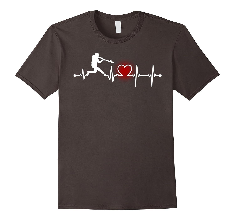 Baseball Heartbeat T Shirt – Baseball Players & Fan Tees