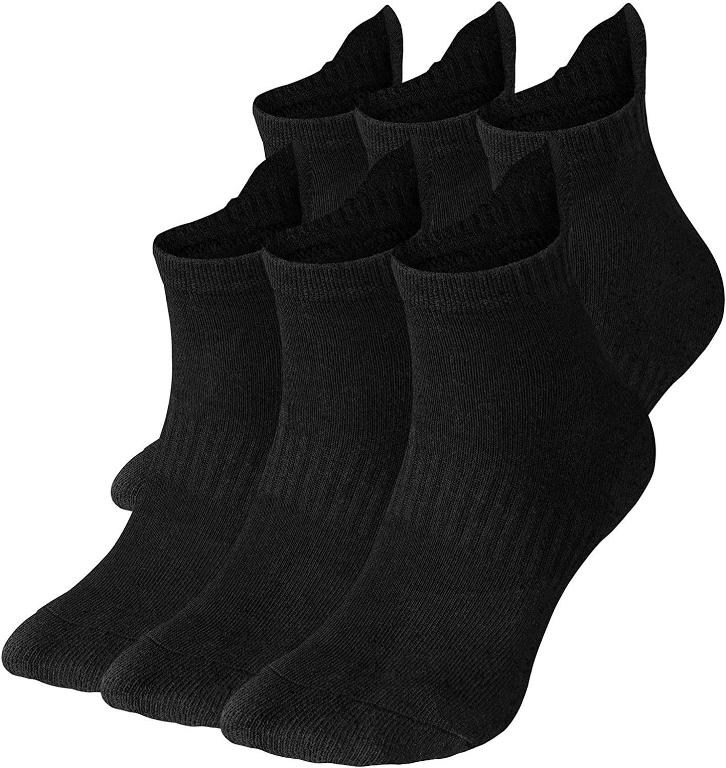 6 Pairs Men Women Size 10-13 Sports Socks Crew Ankle Low Cut Lot Stretch Running