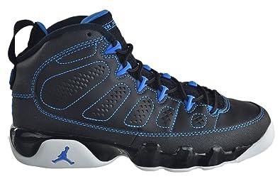9eef77d936a871 ... ireland air jordan 9 retro gs big kids shoes black photo blue black  f28e5 db0e6