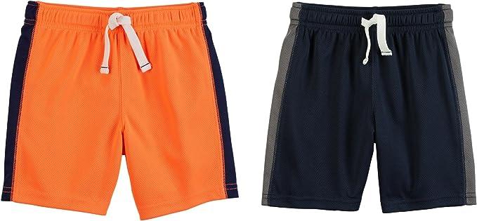 Carters Boys 2-Pack Mesh Short Shorts