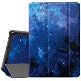 """Famavala Shell Case Cover Compatible with All-New 8"""" Fire HD 8 / Plus (10th Generation 2020 Release) Tablet (BlueSky)"""
