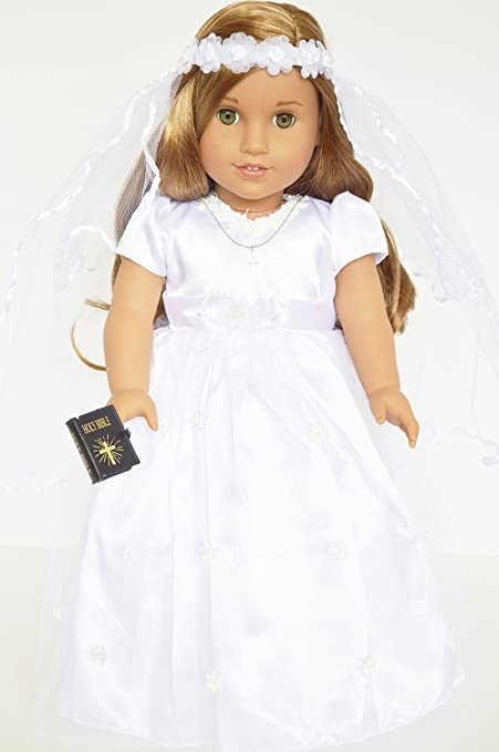 Mini Bible  Communion 18 in Doll Clothes Accessory Fits American Girl