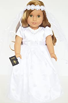 my s 6 communion dress gown for