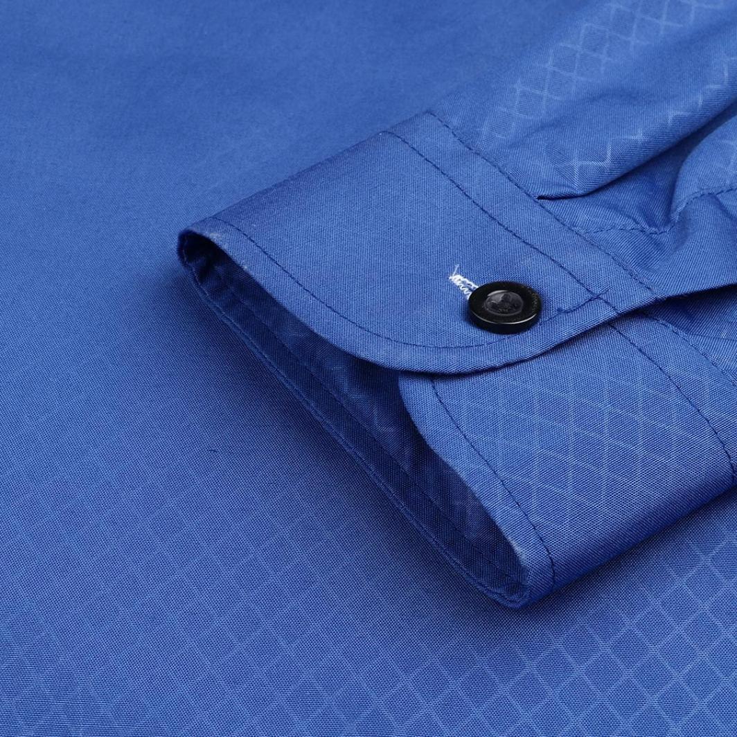 OHQ Camiseta De Lino De Manga Larga para Hombre Camiseta De Hombre Top tee Outwear Blusa De Lino Azul Armada Chaqueta Sin Mangas Algod/óN Trabajo De Invierno Cuero Grande