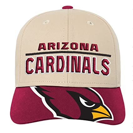 Outerstuff NFL NFL Arizona Cardinals Youth Boys Retro Style Logo Structured  Hat Cardinal 4887b1652