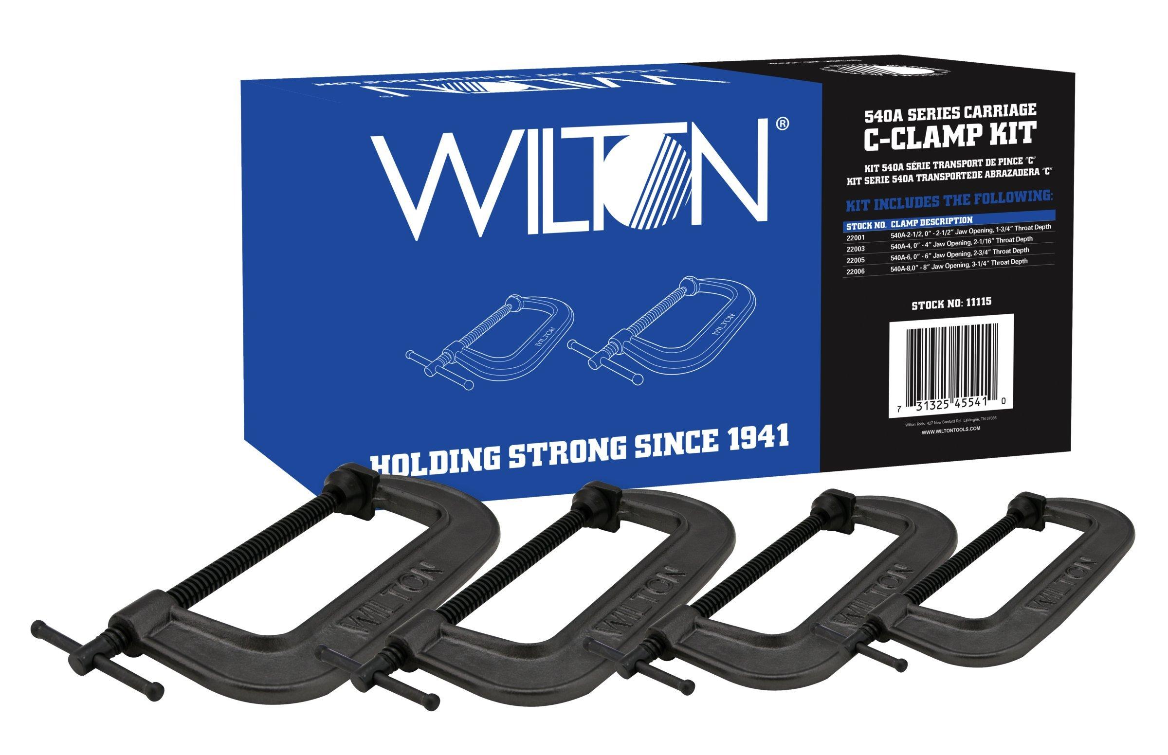 Wilton 11115 540 Amp Series Carriage C-Clamp Kit