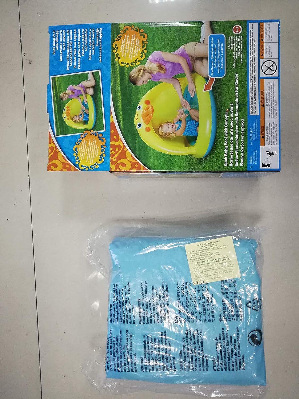Amazon.com: Kimanli - Piscina para bebé, piscina con dosel ...