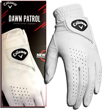 Callaway Golf Men's Dawn Patrol 100% Premium Leather Golf Glove best golf gloves