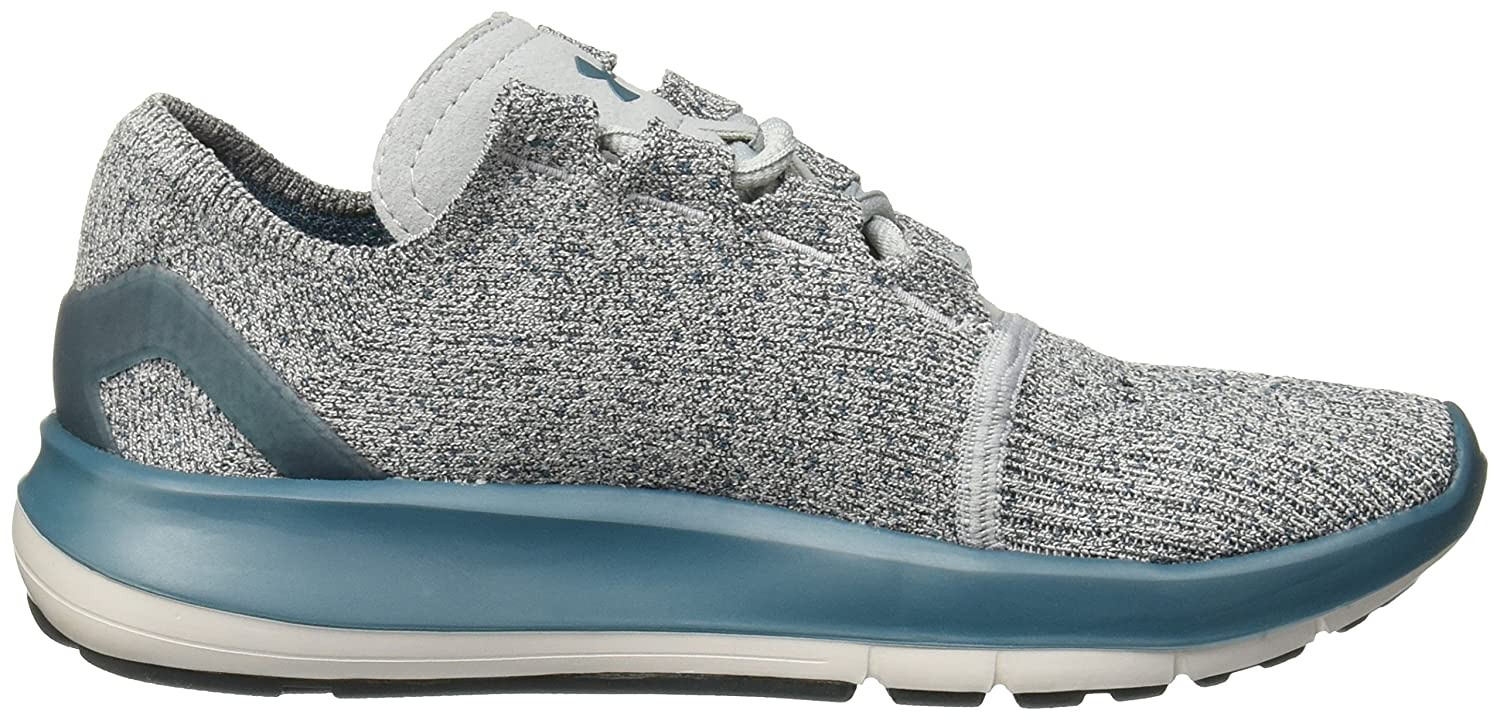 Under Armour Women's Speedform Slingride Tri Running Shoe, Overcast Gray/Glacier Gray/Marlin Blue B01GSRLMZU 5.5 B(M) US|Marlin Blue