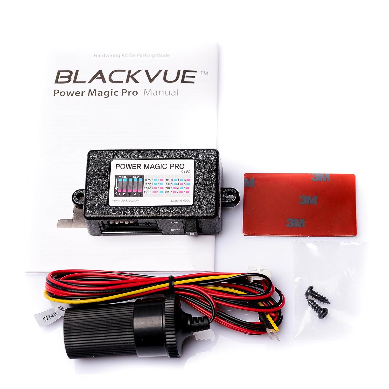 Power Magic Pro BlackVue Vehicle Battery Discharge Prevention for Parking Mode for BlackVue DR500GW, DR550GW, DR650GW, DR650S