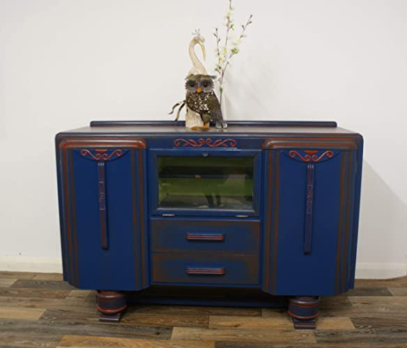 Art Deco Sideboard, Vintage Sideboard, 1930s Buffet, China Cabinet, Drinks  Cabinet, Vintage Cocktail Cabinet: Amazon.co.uk: Handmade