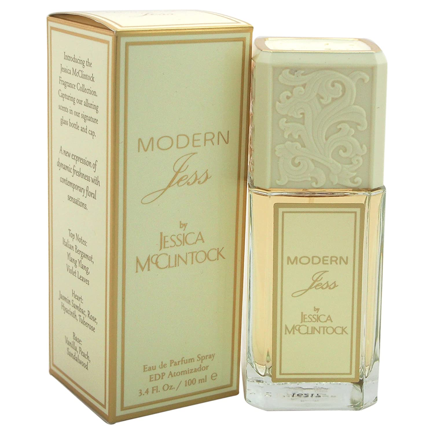Jessica McClintock Modern Jess Eau de Toilette Spray for Women, 3.4 Oz 861940000068