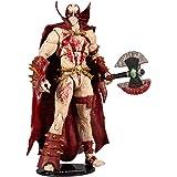 "McFarlane Toys Mortal Kombat Spawn Blood Feud Hunter Skin 7"" Action Figure, Multicolor"