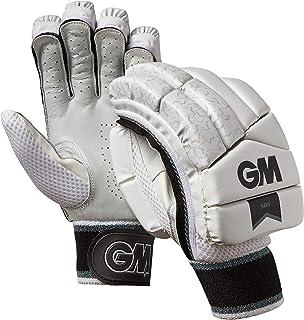 Gunn & Moore 505 - Guantes de bateo, 505, Unisex Adulto, Color Blanco/Plateado/Negro, tamaño Small Adult LH tamaño Small Adult LH GM Cricket 51951926