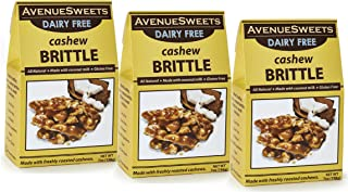 product image for AvenueSweets - Handcrafted Old Fashioned Dairy Free Vegan Nut Brittle - 3 x 7 oz Boxes - Cashew