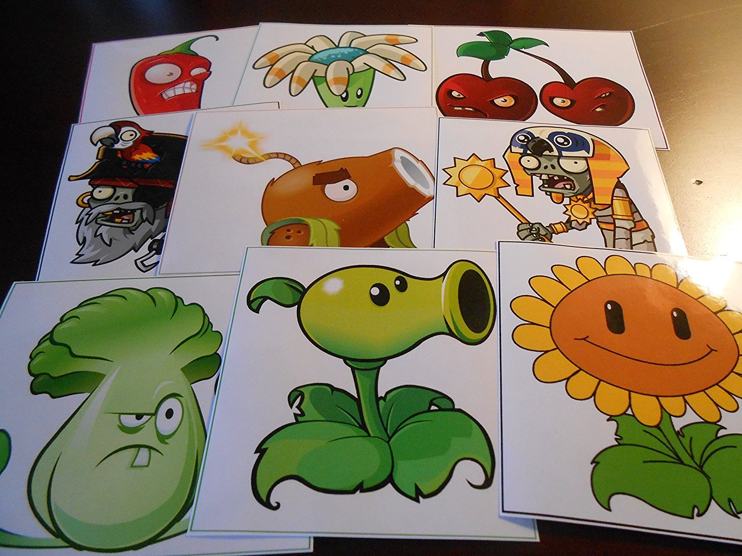 (9) Plant Stickers