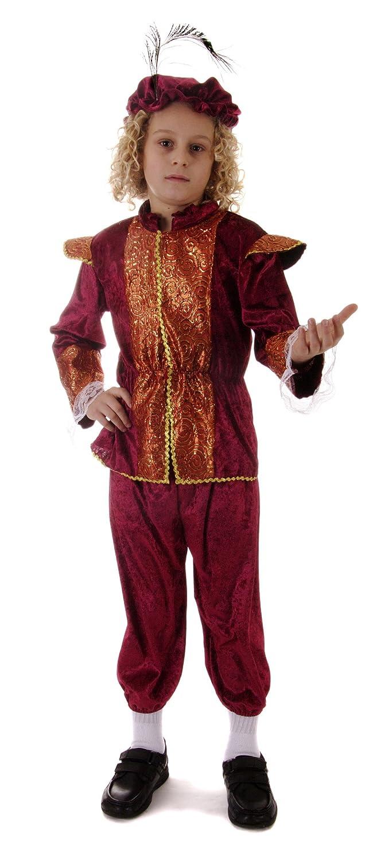 Tudor Boy Children\u0027s Fancy Dress Costume 10 - 12 years: Amazon.co ...