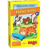 HABA 305473 - Mijn eerste games - Voer mij! Toewijzingsspel vanaf 2 jaar voor 1-5 spelers met 5 houten figuren over…