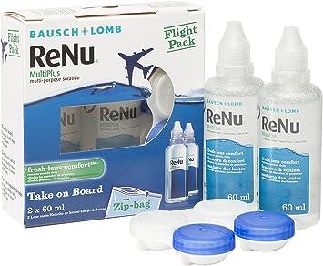 BAUSCH + LOMB - Renu® MultiPlus Solución de Mantenimiento - Kit ...