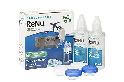 4793f30cbd Renu Multiplus - Solución para Lentes de Contacto FlightPack - 120 ...