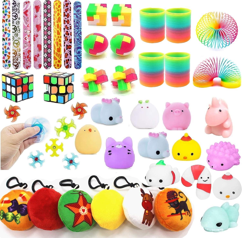 "12 PC 4/"" Squish Unicorn Plush Squeeze Toys Kids Prizes Party Favors"