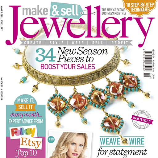 Make  Sell Jewellery Magazine – tutorials and projects to help create beautiful handmade jewellery