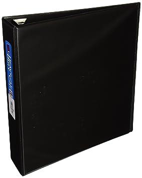 Avery 79982 - Carpeta de cartón (Negro, 540 hojas, 5,08 cm): Amazon.es: Oficina y papelería