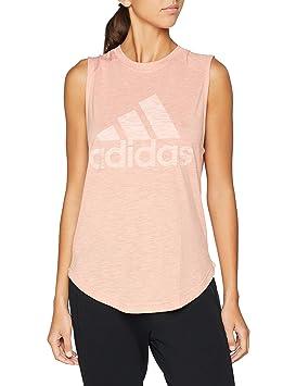 Adidas Winners M tee Camiseta, Mujer, Rosa (Rostra), XS