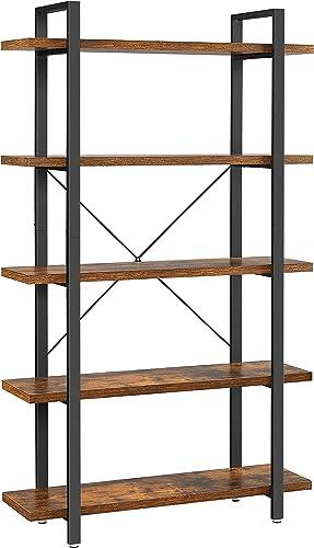 VASAGLE Industrial Bookshelf - a good cheap modern bookcase