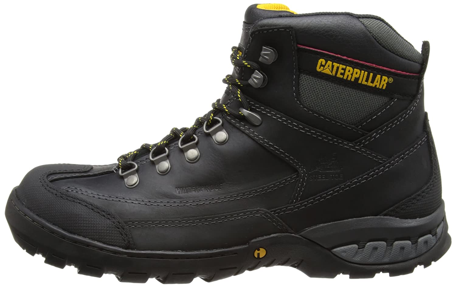 CAT Footwear Dynamite Waterproof ST - Botas de cuero hombre, Black, 44 (10 UK): Amazon.es: Zapatos y complementos