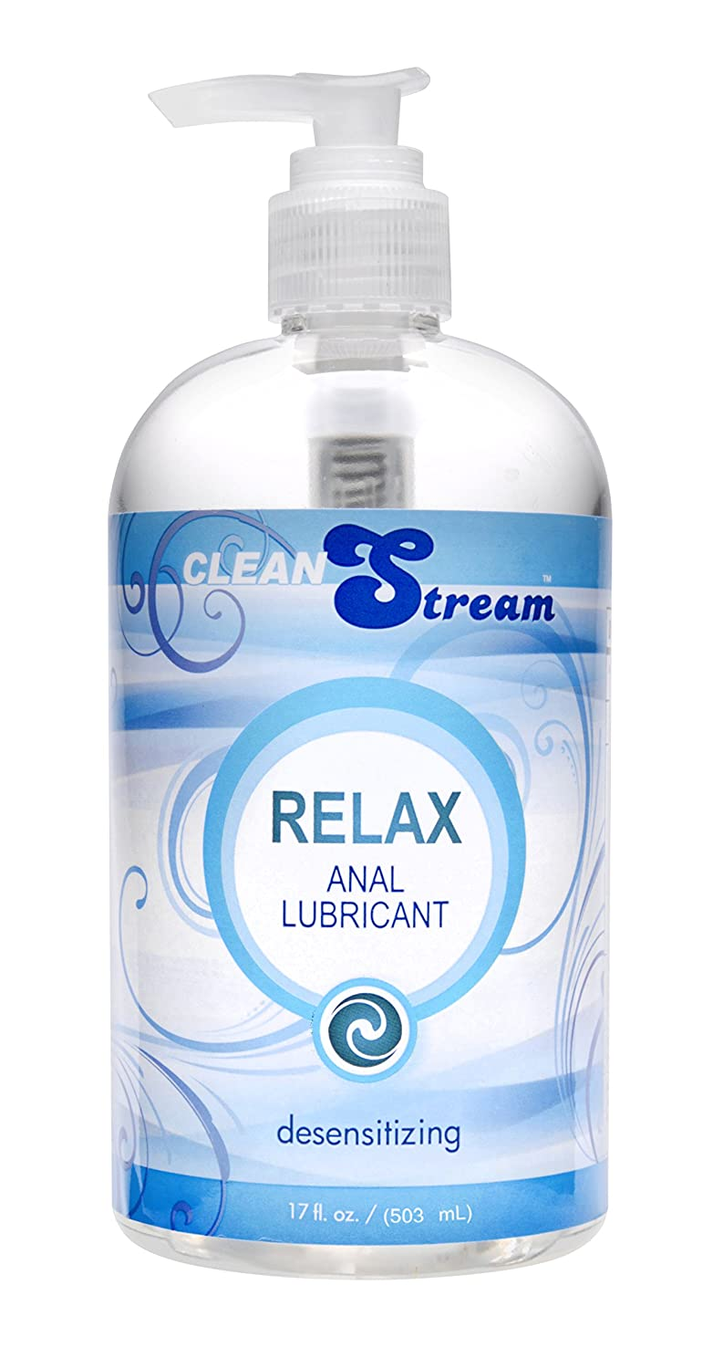 Lube blue anal