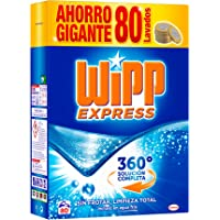 WiPP Express Detergente en Polvo - 80 Lavados