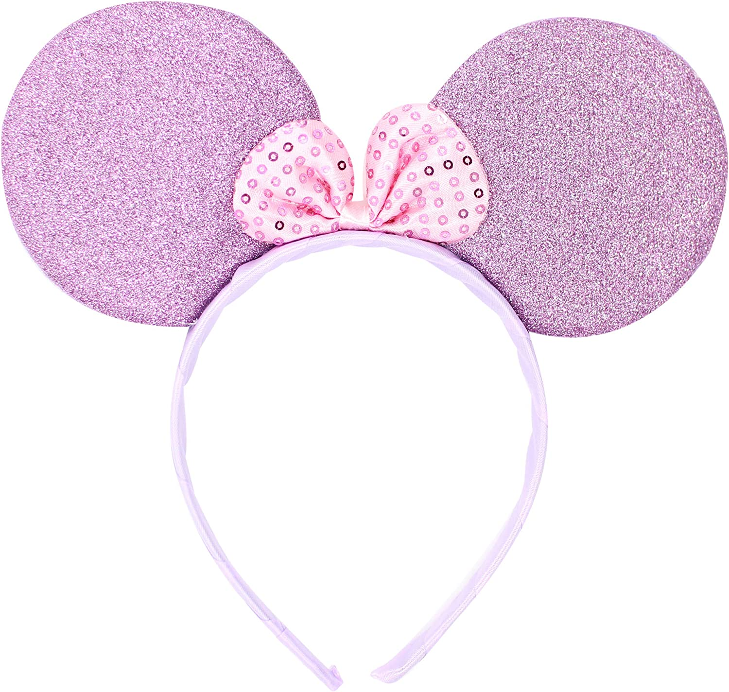 Women Girls Hen Party Night Minnie Mini Mouse Ears Headband Spotted Red Colour