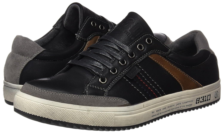 040156, Baskets Homme, Noir (Black Black), 42 EUBASS3D