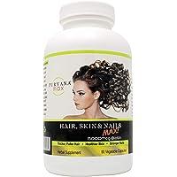 Wellgenix Purvana Max Hair, Skin, and Nails Vitamin Capsules, Double Strength Biotin...