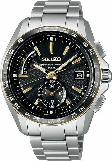 [セイコーウォッチ] 腕時計 ブライツ ソーラー電波修正 チタンダイヤシールド サファイアガラス スーパークリア コーティング SAGA160 シルバー