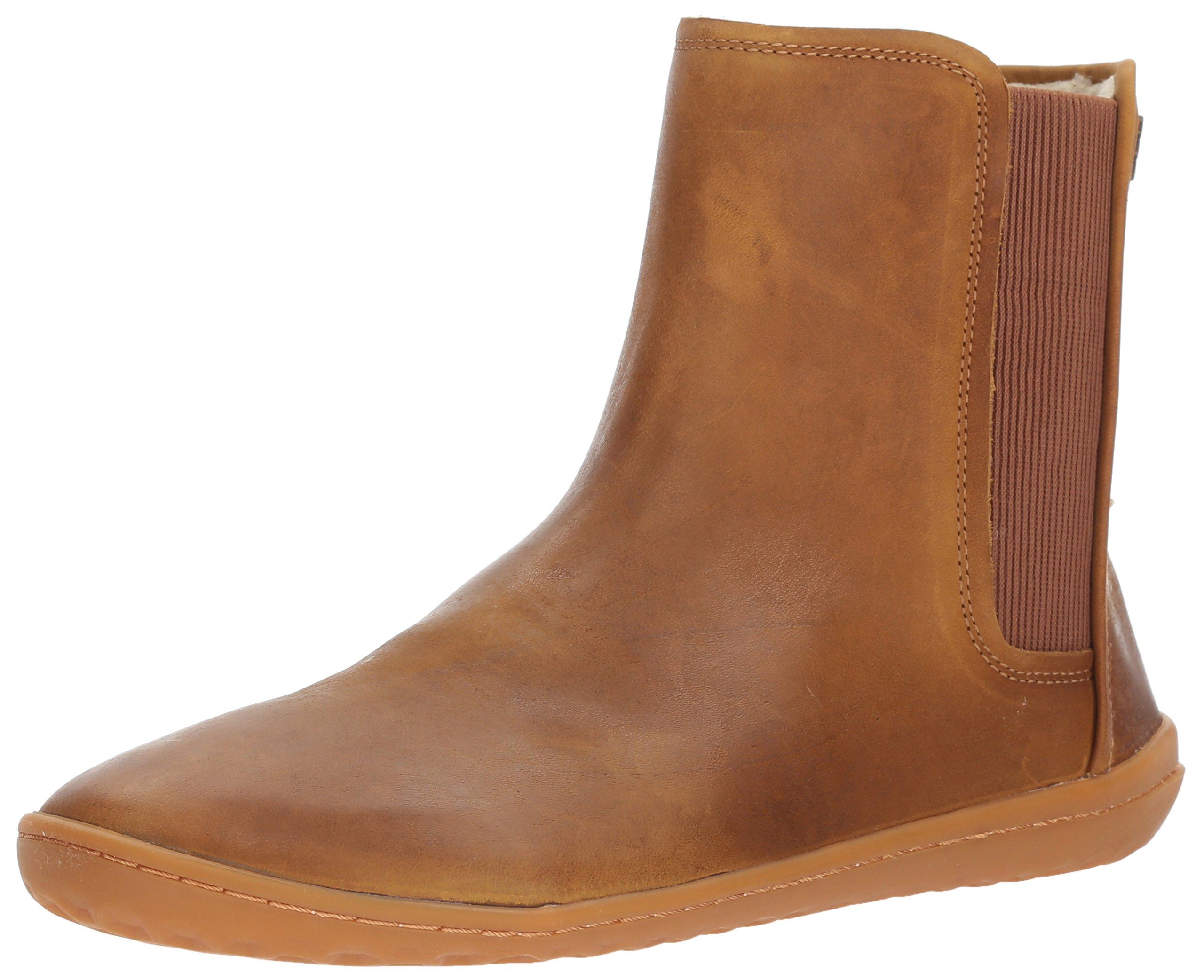 Vivobarefoot Women's Nepal Winterproof Lined Boot, Chestnut, 38 D EU (7.5 US)