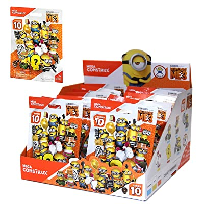 Mega Construx Despicable Me 3 Minions Series 10 Blind Bag: Toys & Games